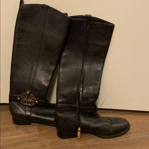Tory Bunch leather boots